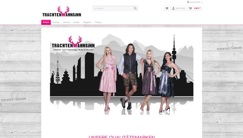 "trachtenwahnsinn.com – Tracht ""Made in Bavaria"" (costume ""Made in Bavaria"")"