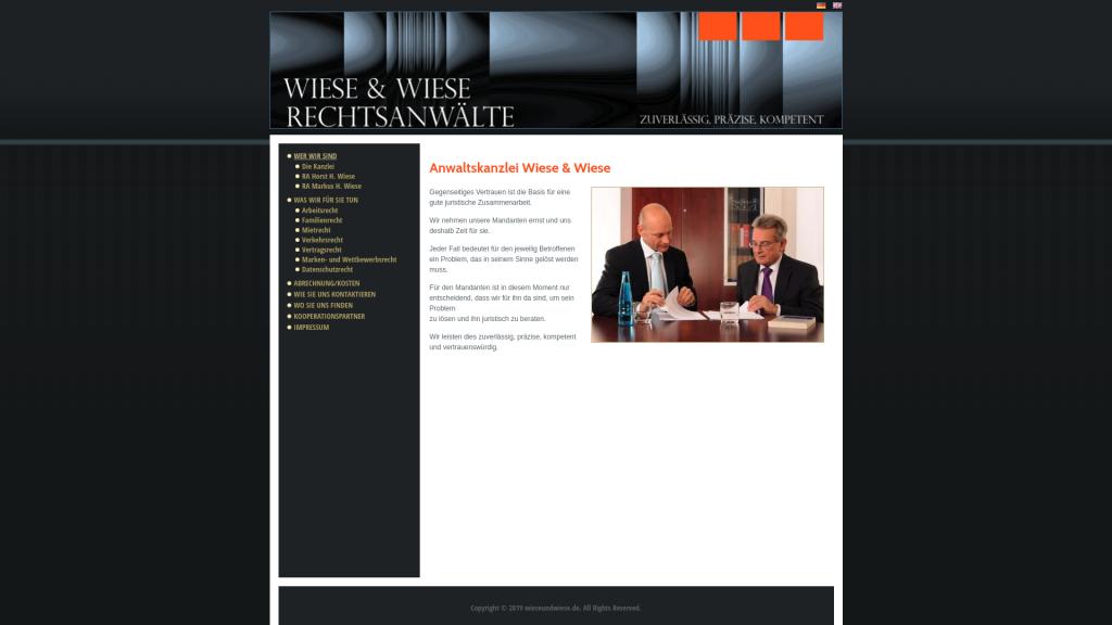Wiese und Wiese Rechtsanwälte (Wiese und Wiese lawyers)